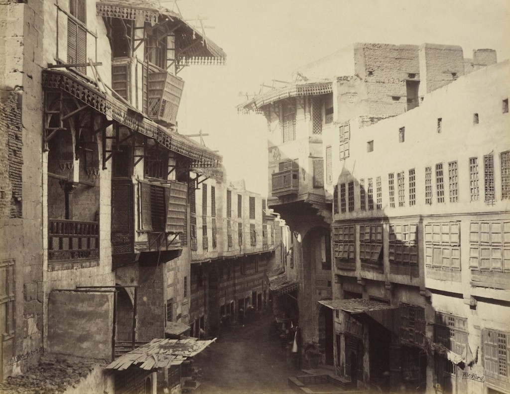 A view of old Cairo. (The Mosaic Rooms)