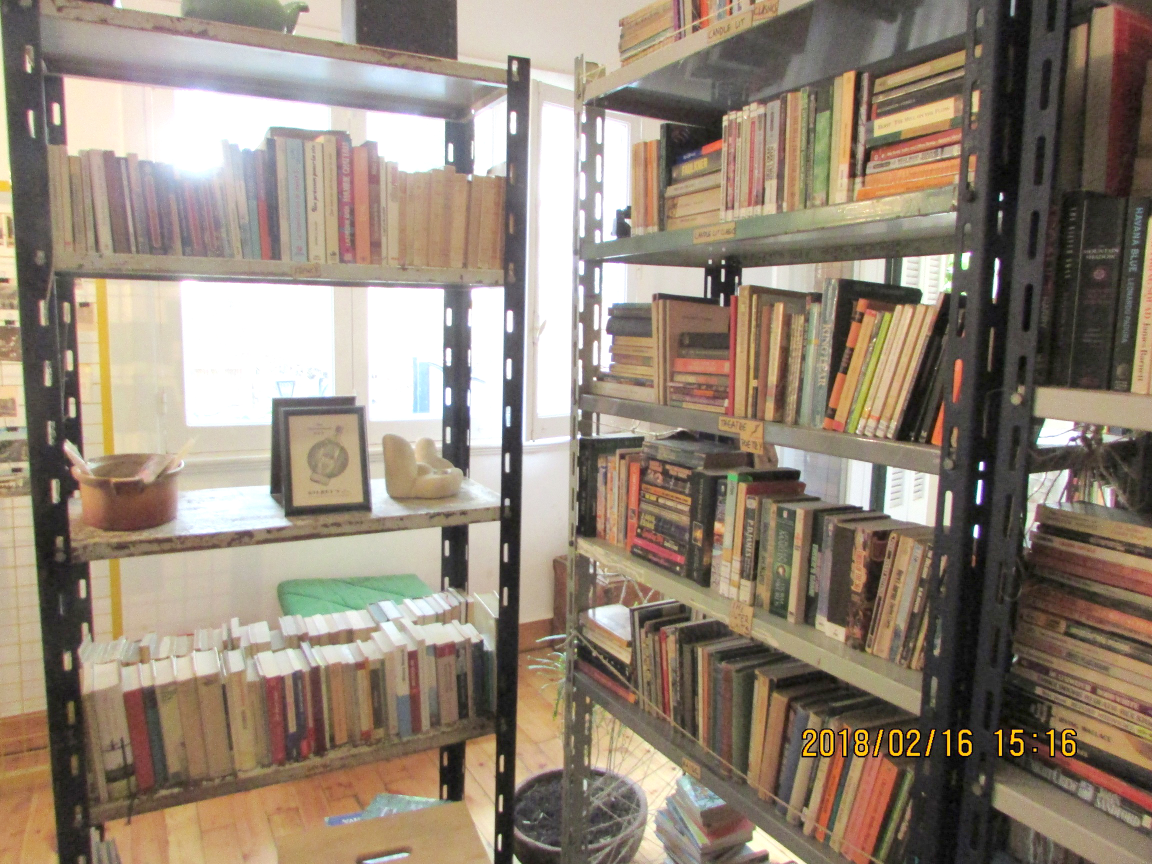 The Vanished Library bookstore in Cairo. (Marwa al-A'sar)