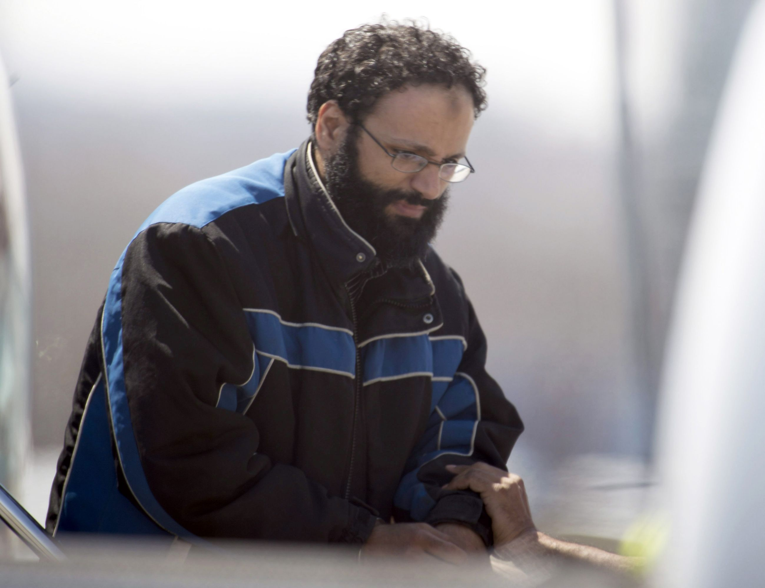 A file picture of Chiheb Esseghaier, one of two suspects accused of plotting with al-Qaeda in Iran to derail a train in Canada.   (AP)