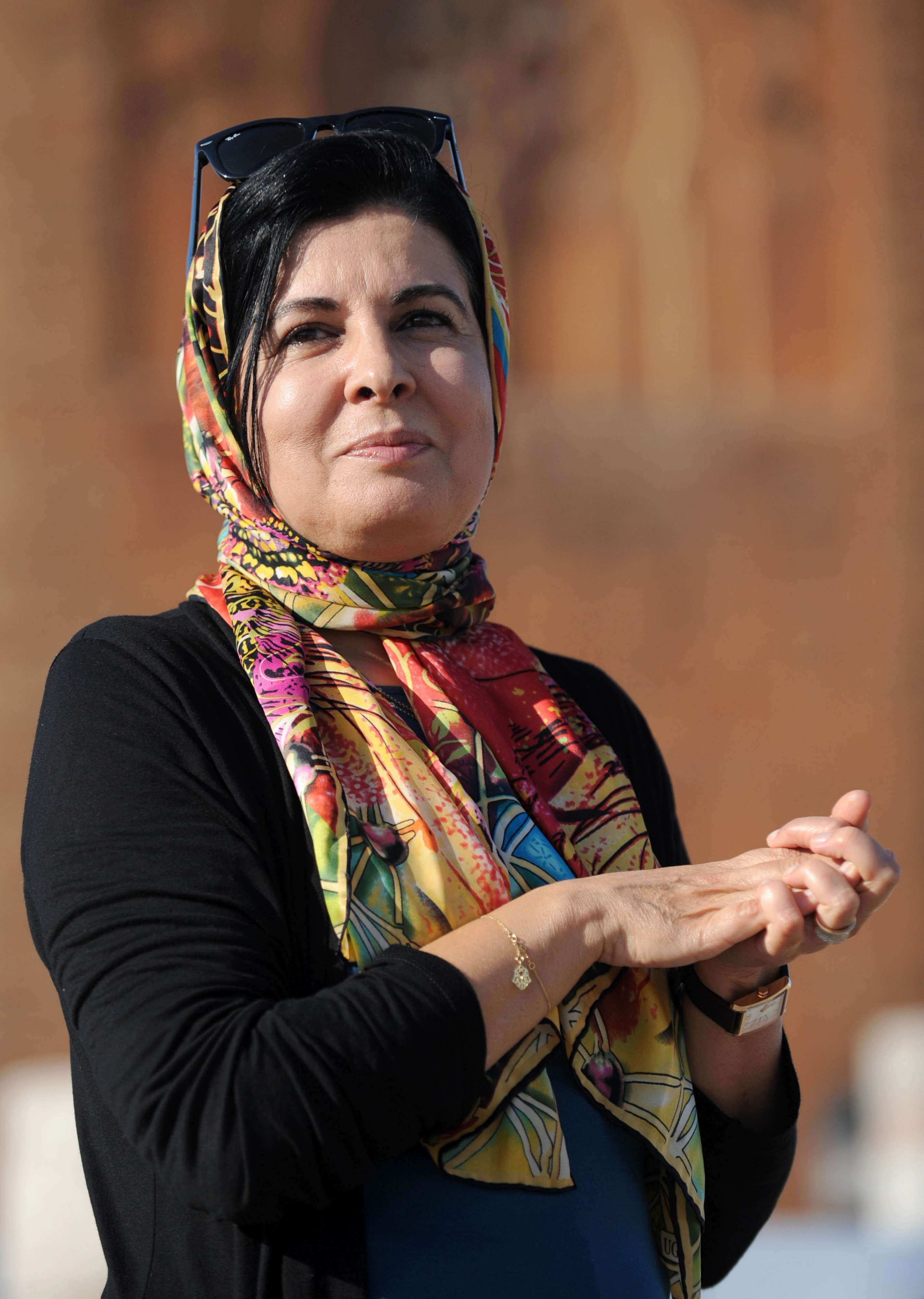 In for a change. Former director of the Centre for Women's Studies and Research in Islam Asma Lamrabet.               (AFP)