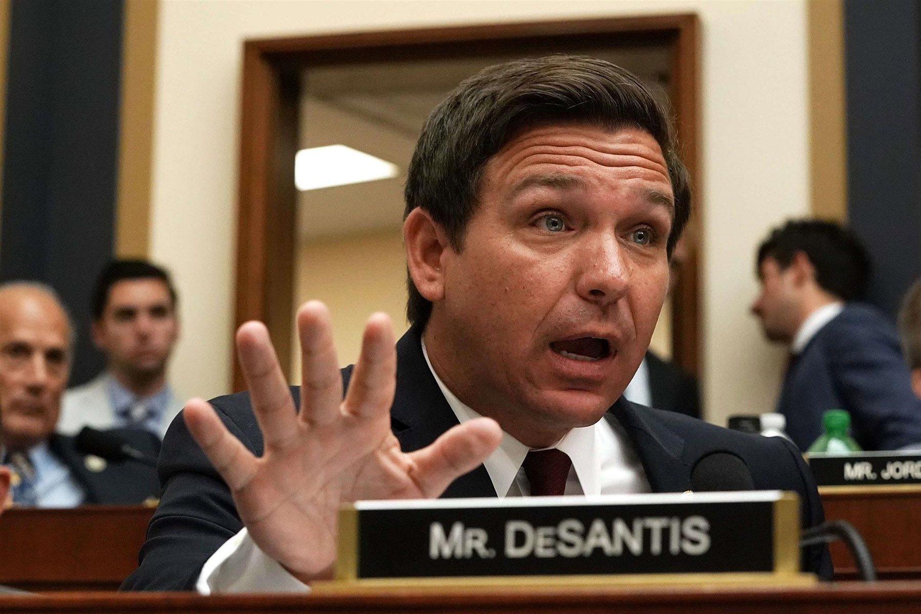 US Representative Ron DeSantis, a Republican from Florida, speaks during a hearing before the House Judiciary Committee in Washington. (AFP)