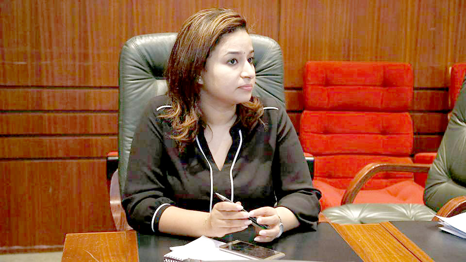 Ibtissam Azzaoui, a member of the Moroccan parliament from the Authenticity and Modernity Party (PAM). (Courtesy of Ibtissam Azzaoui)