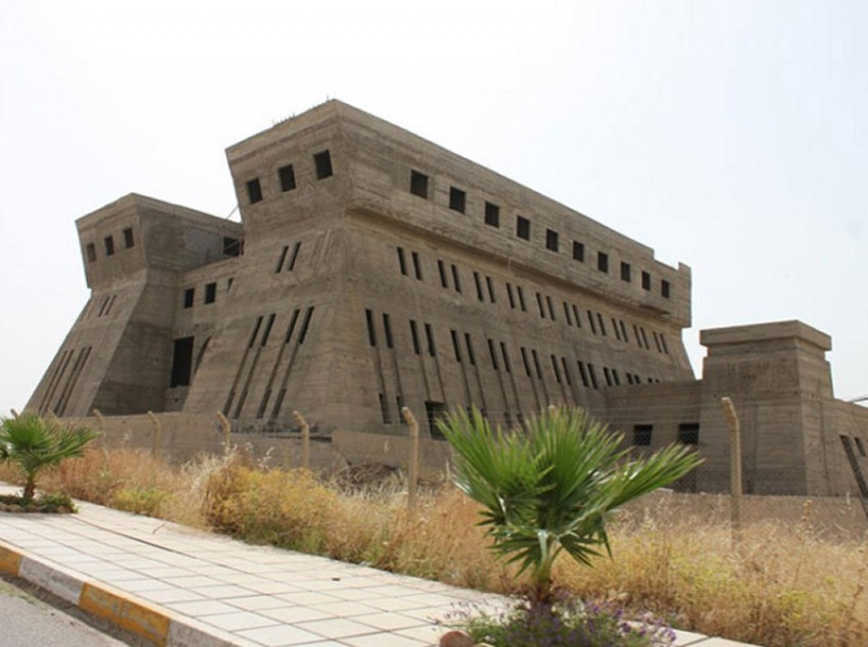 Glorious past. A file picture shows a general view of the Royal Library of Ashurbanipal in Mosul.  (Al Arab)