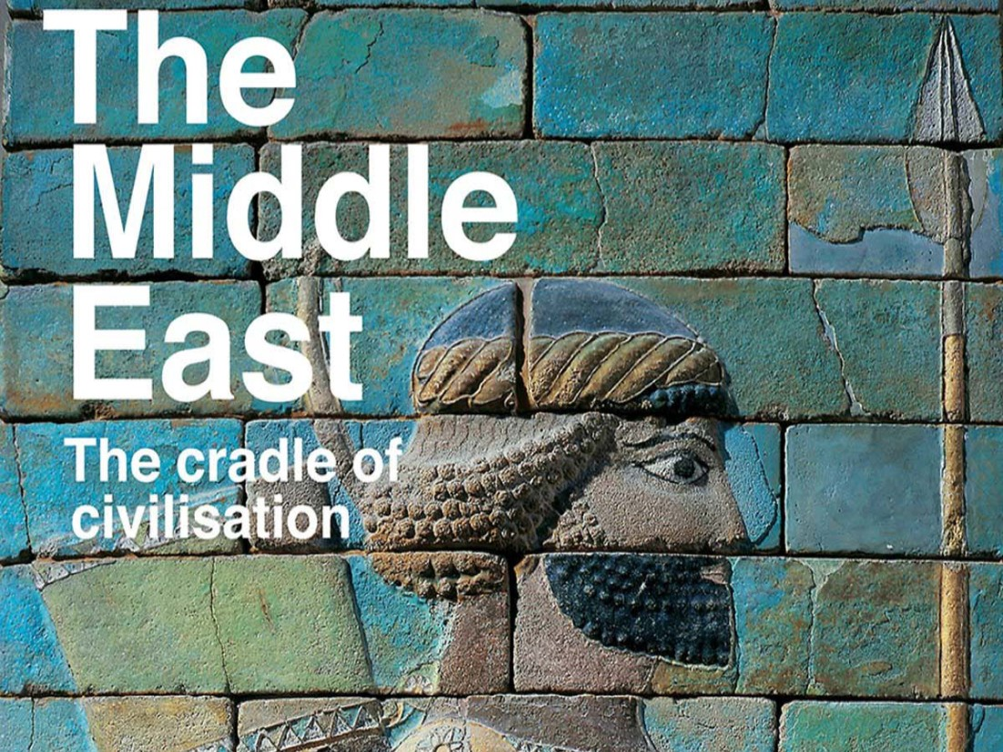 "Cover of ""The Middle East: The Cradle  of Civilisation."""