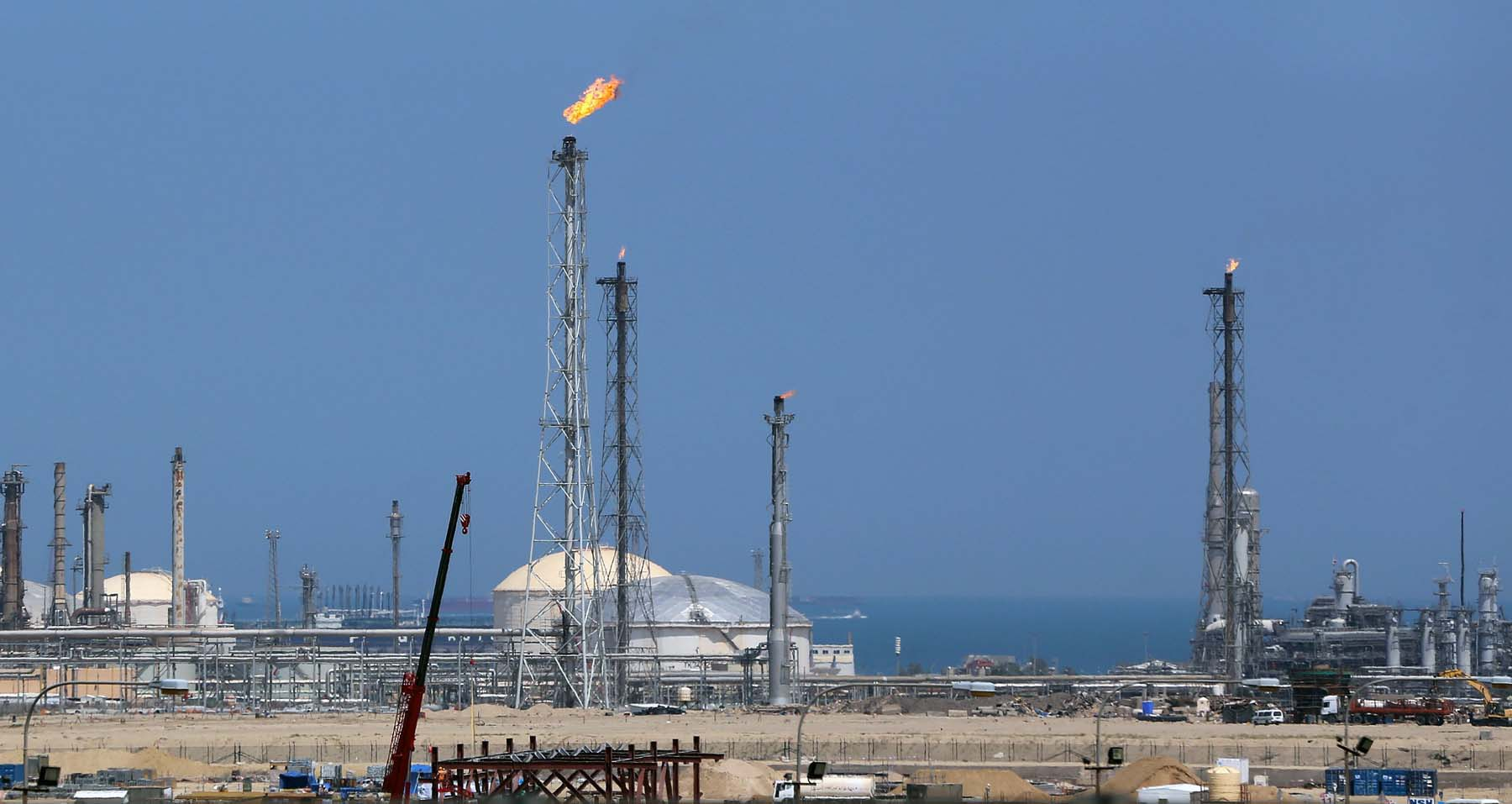 Dedicated supplier. A general view of the Shuaiba oil refinery in Kuwait. (AFP)