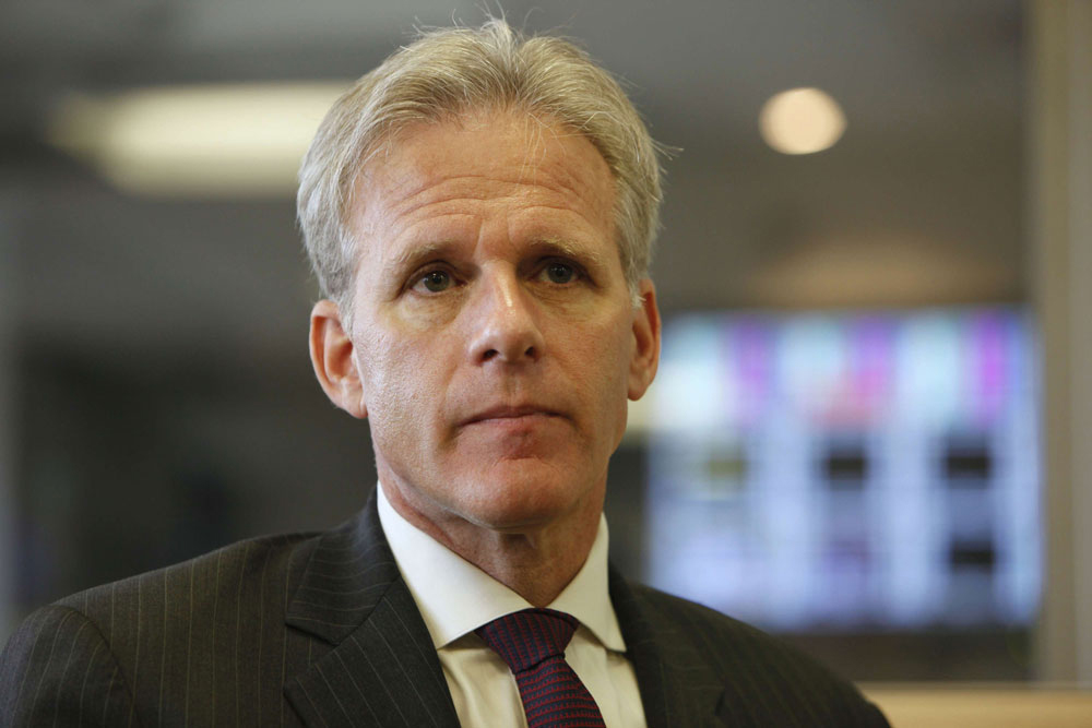 A file picture shows Israel's Deputy Cabinet Minister for Public Diplomacy Michael Oren. (AFP)