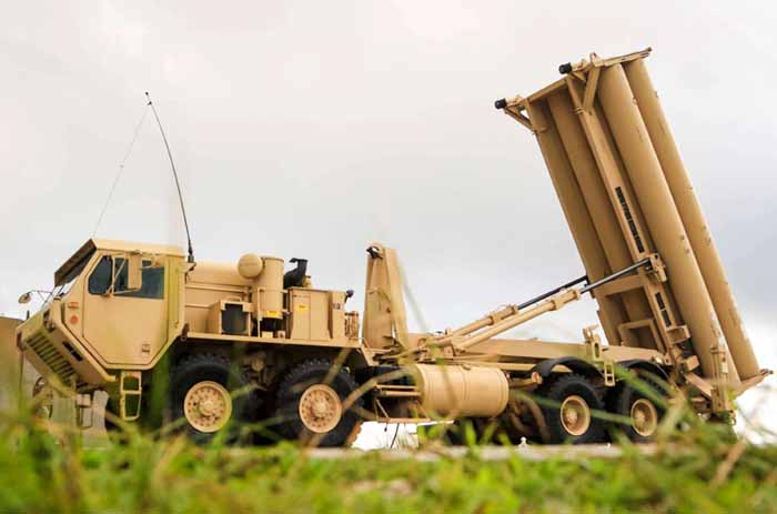 Best-in-class. A US Army Terminal High Altitude Area Defence (THAAD) weapon system at Andersen Air Force Base in Guam. (US Army)
