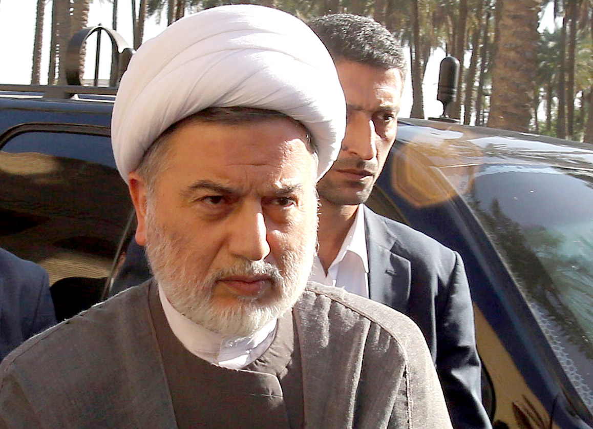 President of the Islamic Supreme Council of Iraq Humam Hamoudi in Baghdad. (AP)