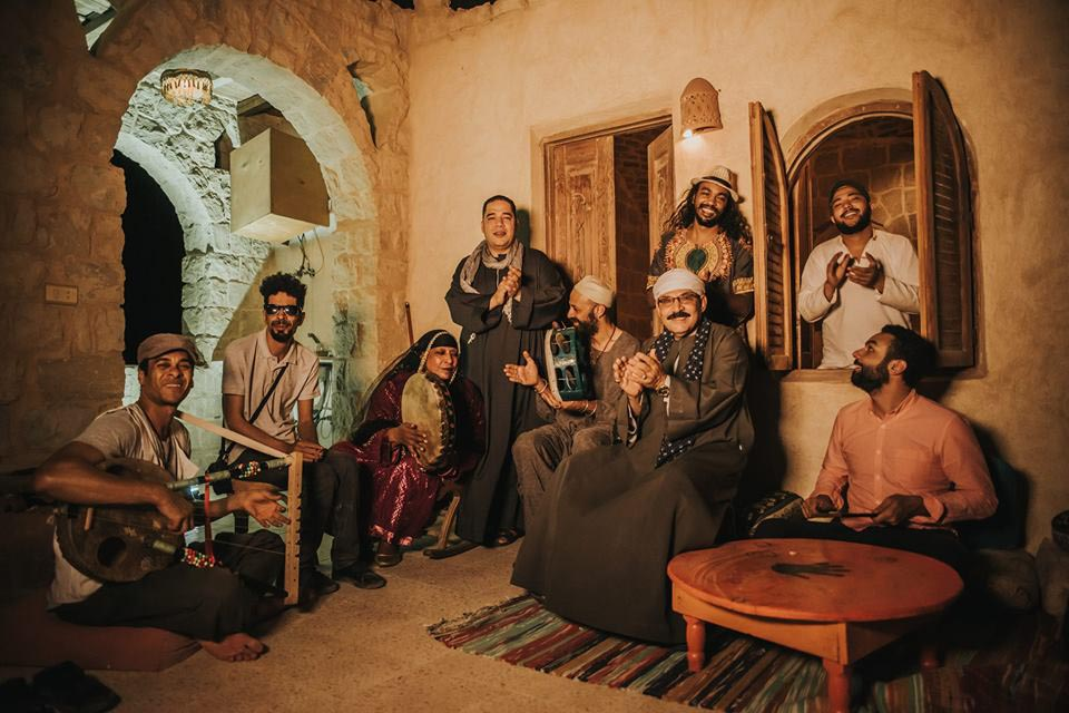 With an  authentic touch.  Members of Taksir Sharqi perform at at the Egyptian Centre for Culture and Arts — Makan.        (Taksir Sharqi)