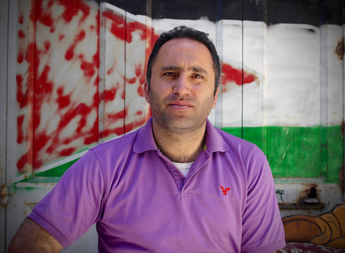 Palestinian human rights activist Issa Amro.  (Courtesy of Issa Amro)
