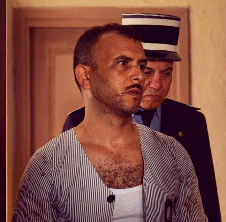 "A scene from the Tunisian series ""Chouerreb"" which investigates the life of Ali Chouerreb, a notorious Tunisian criminal. (Courtesy of Lotfi Abdelli)"