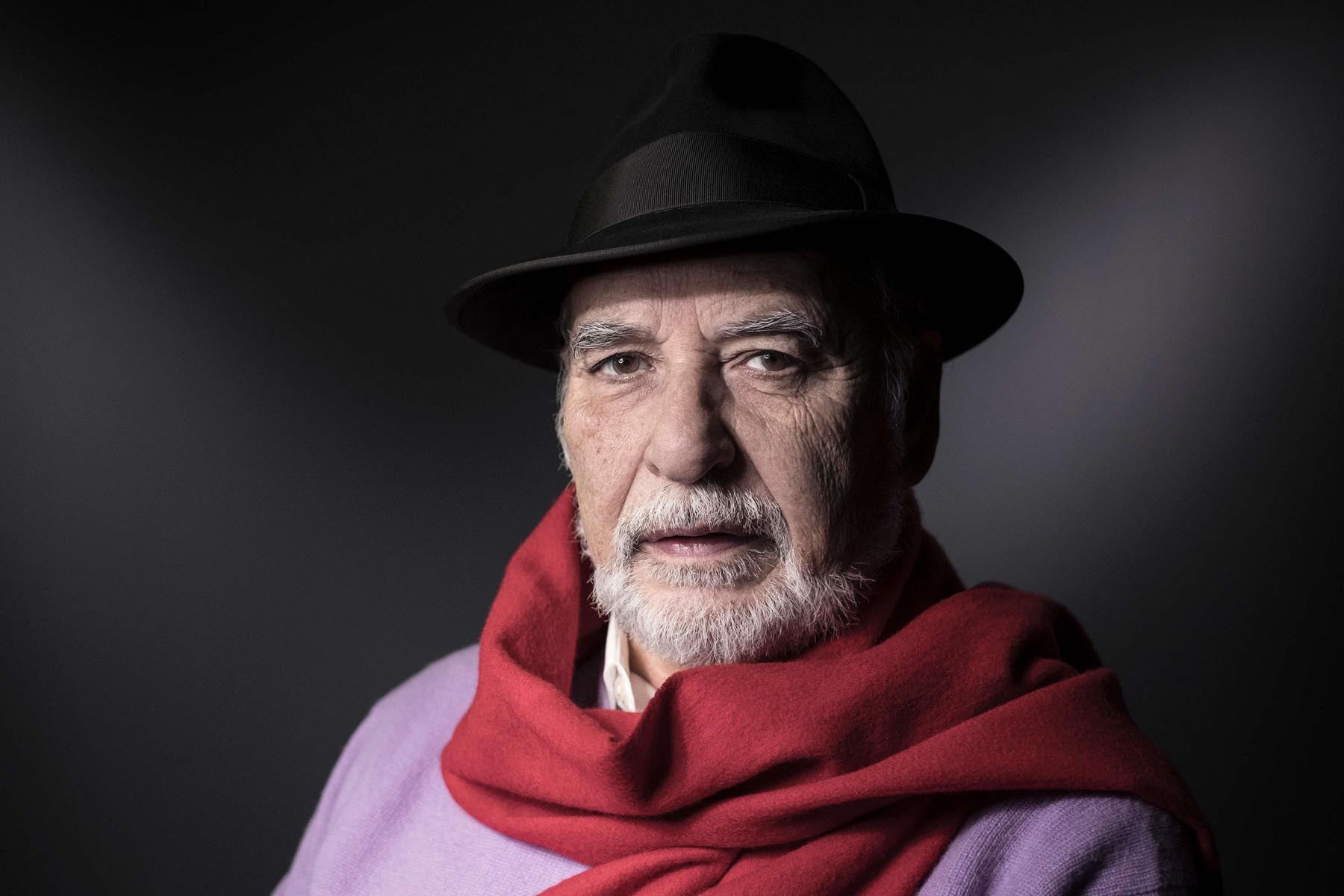Moroccan writer Tahar Ben Jelloun in Paris. (AFP)