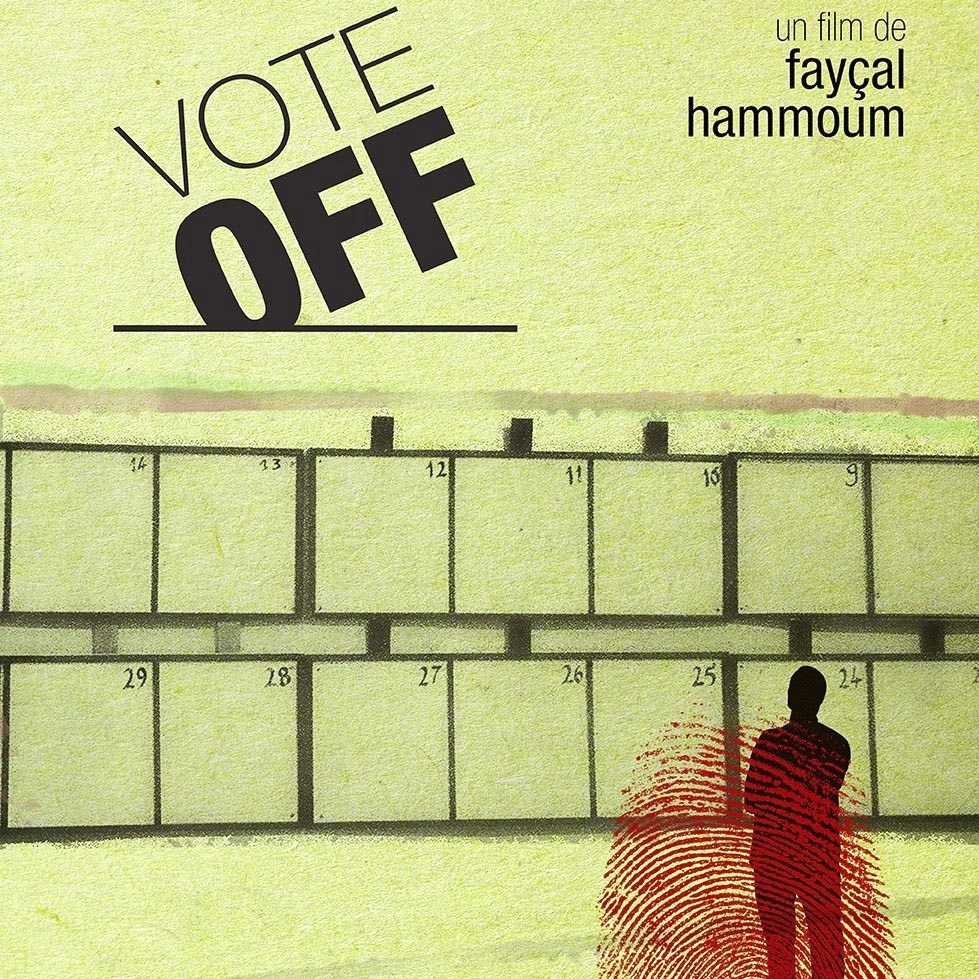 "Poster of the Algerian movie ""Vote Off."" (Facebook)"