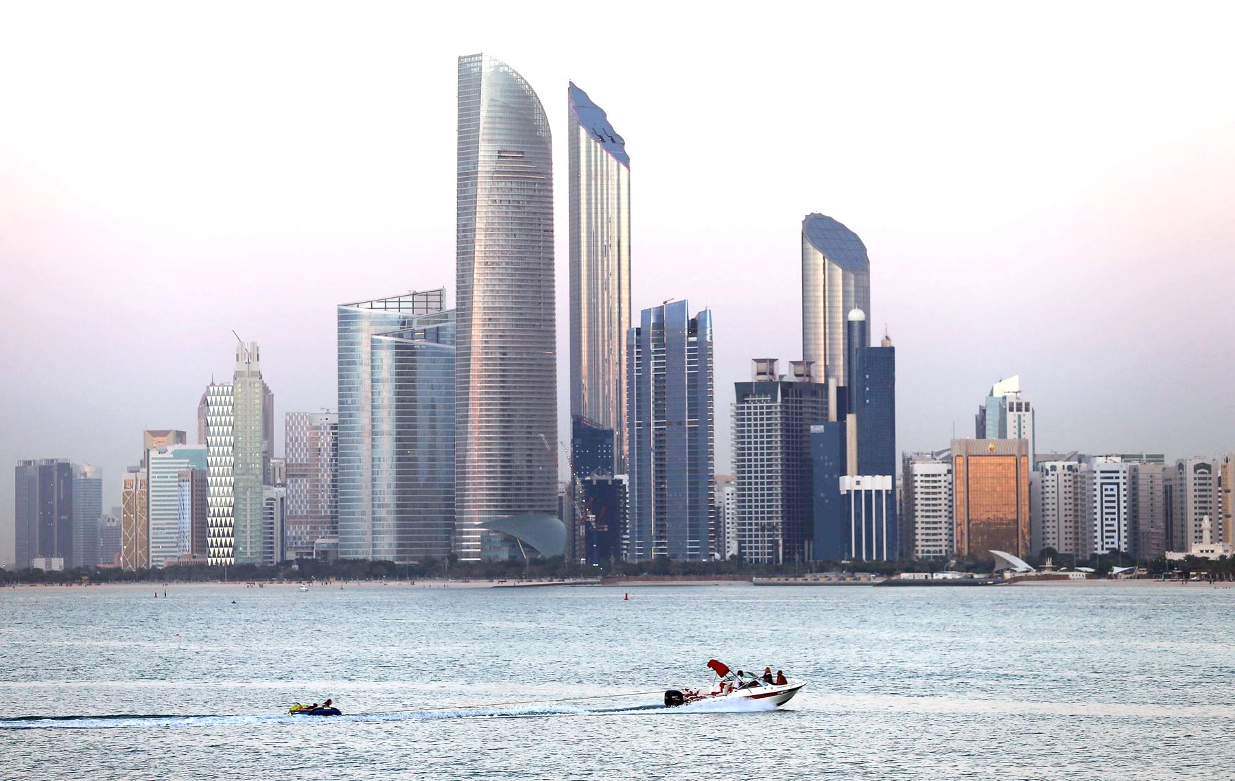 A general view of Abu Dhabi. (Reuters)