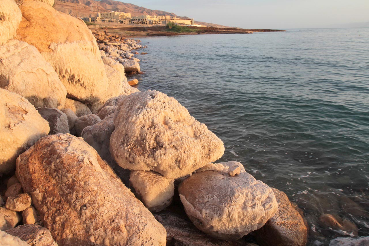 A view at the Dead Sea in Jordan. (Roufan Nahhas)