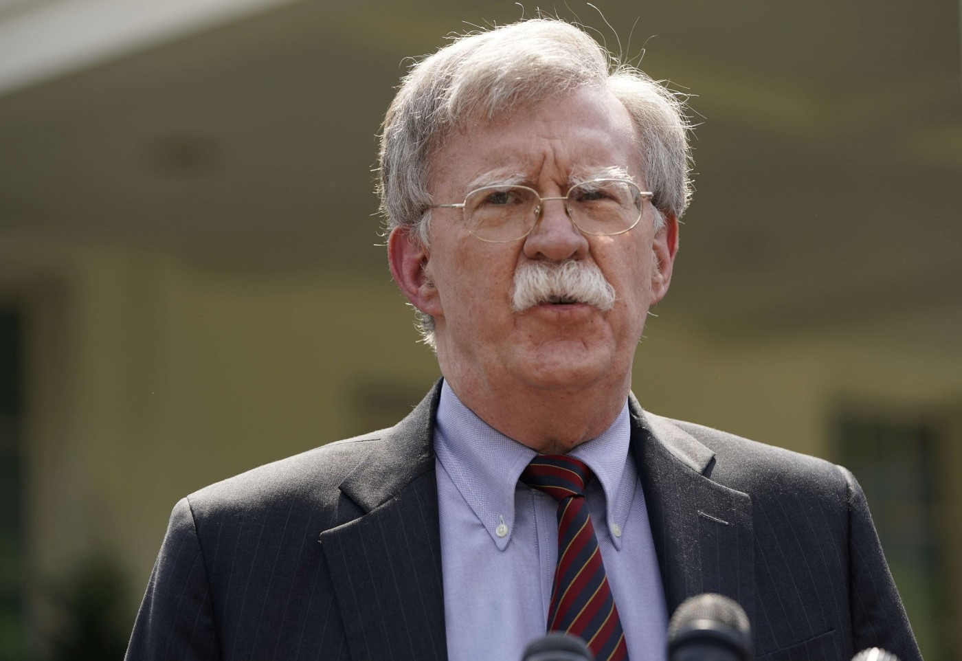 White House national security adviser John Bolton. (Reuters)