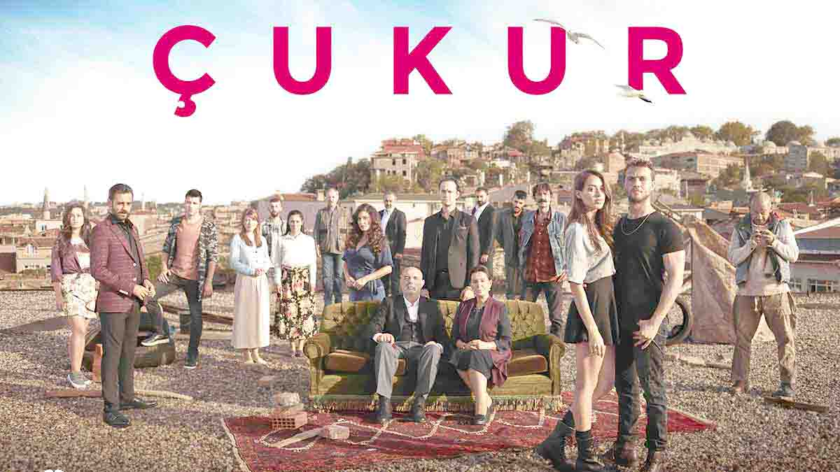"A poster of the television show ""Cukur."" (Facebook)"