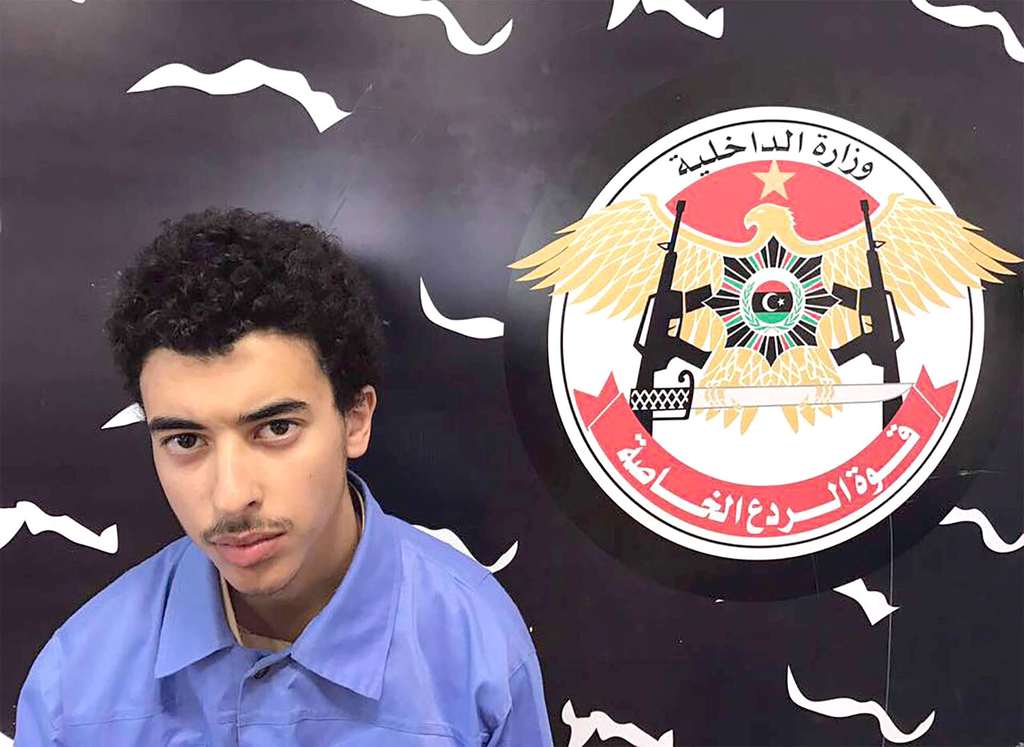 A file picture shows Hashem Abedi, the brother of the man who carried out the bombing in the British city of Manchester. (AFP)