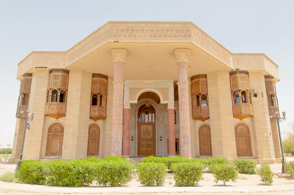 A general view of the Basra Museum in southern Iraq. (Courtesy of the Basra Museum)