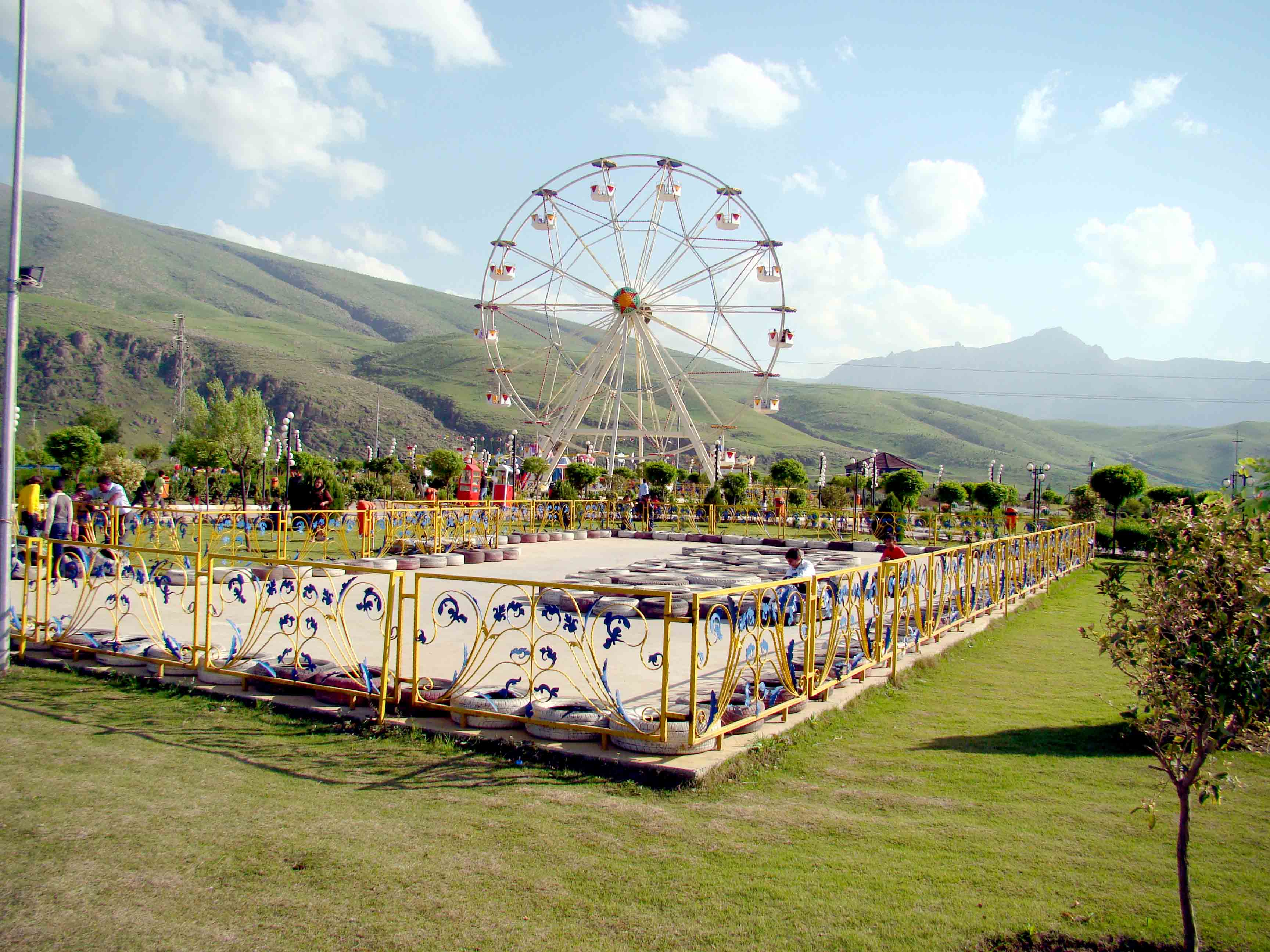 An amusement park near Erbil.(Oumayma Omar)