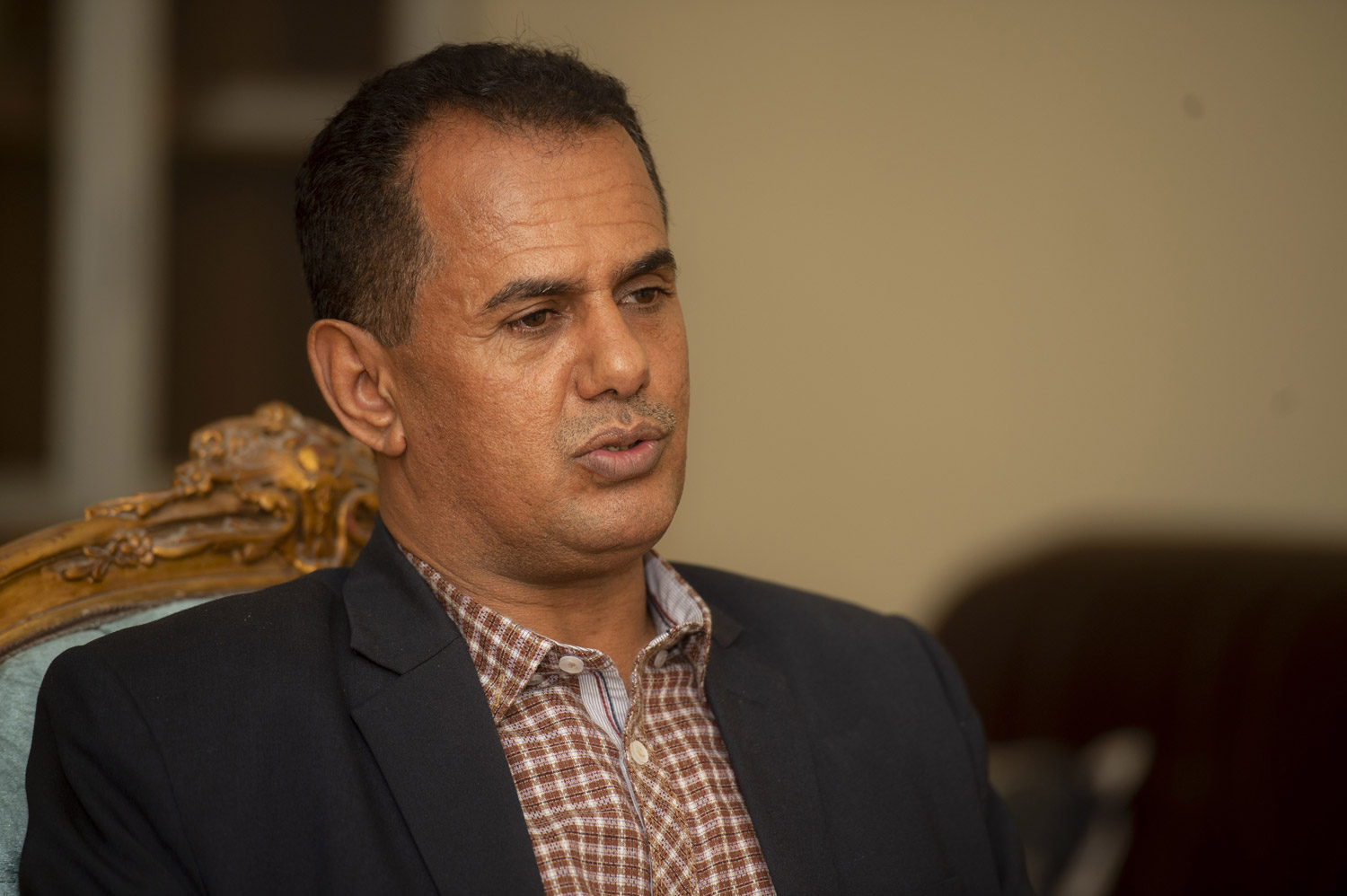 Mansour Saleh, deputy head of the media department of the Southern Transitional Council. (Al Arab)