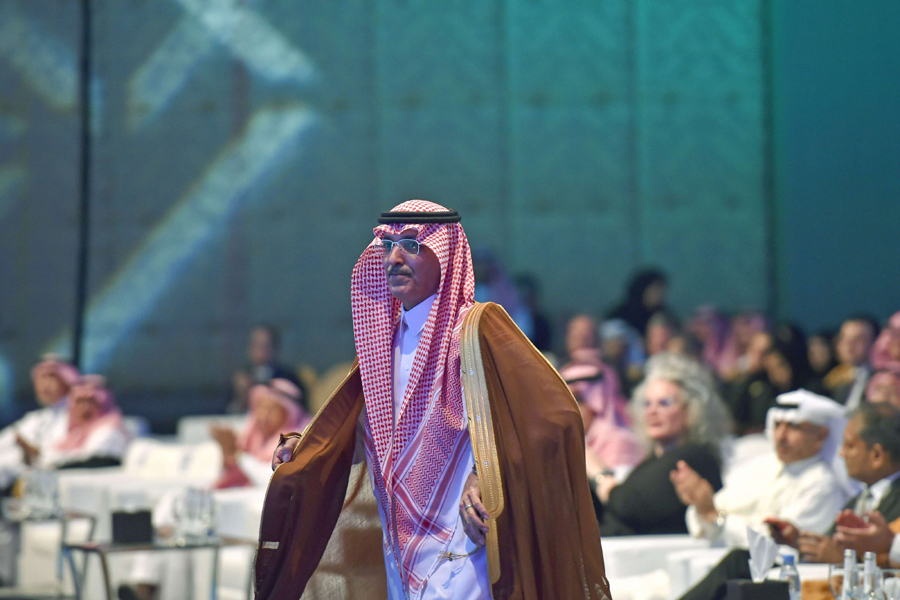 Saudi Finance Minister Mohammed al-Jadaan attends the Euromoney conference in Riyadh, September 18. (AFP)