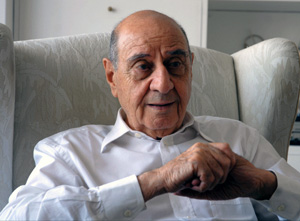 A man who believed in coexistence. Late leader of Tunisia's Jewish community Roger Bismuth. (Al Arab)