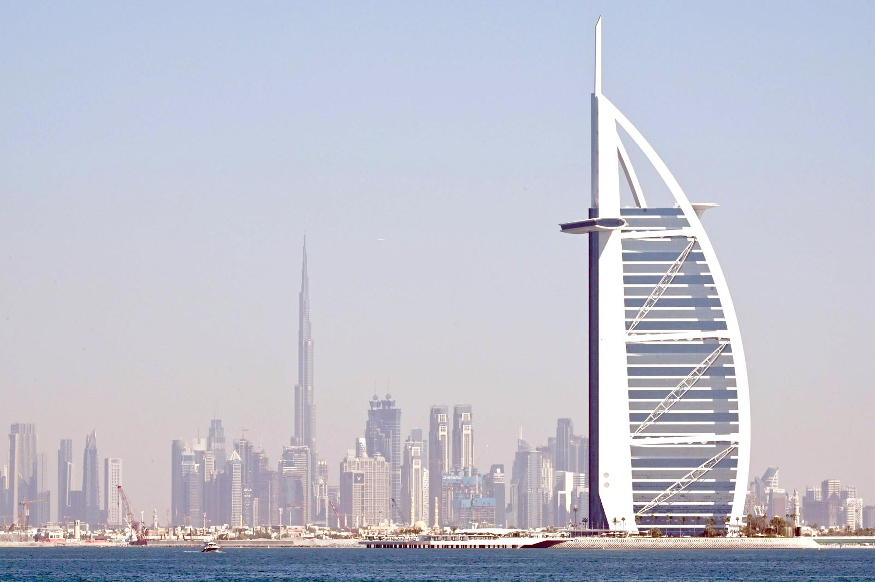 A general view of Dubai. (AFP)