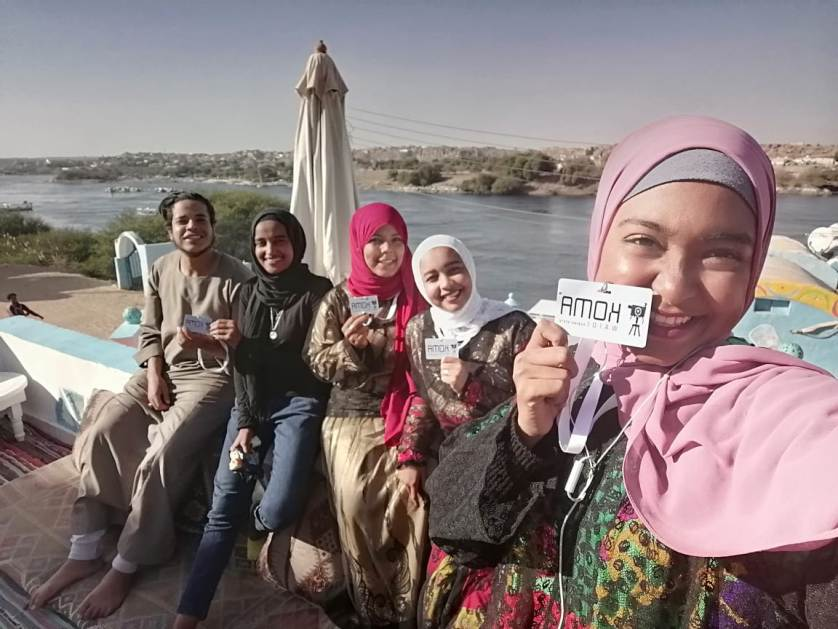 Koma Waidi volunteers in Aswan.  (Courtesy of Koma Waidi)