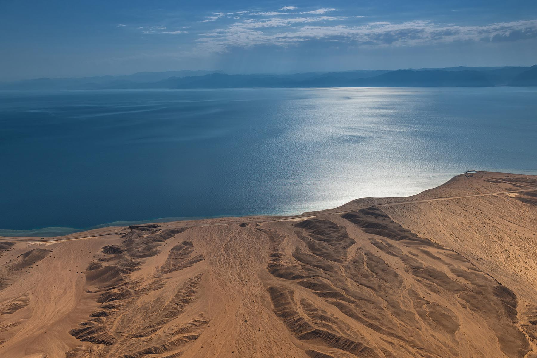 Land of the future. The site of NEOM in Tabuk province in north-western Saudi Arabia.(NEOM SAUDI)