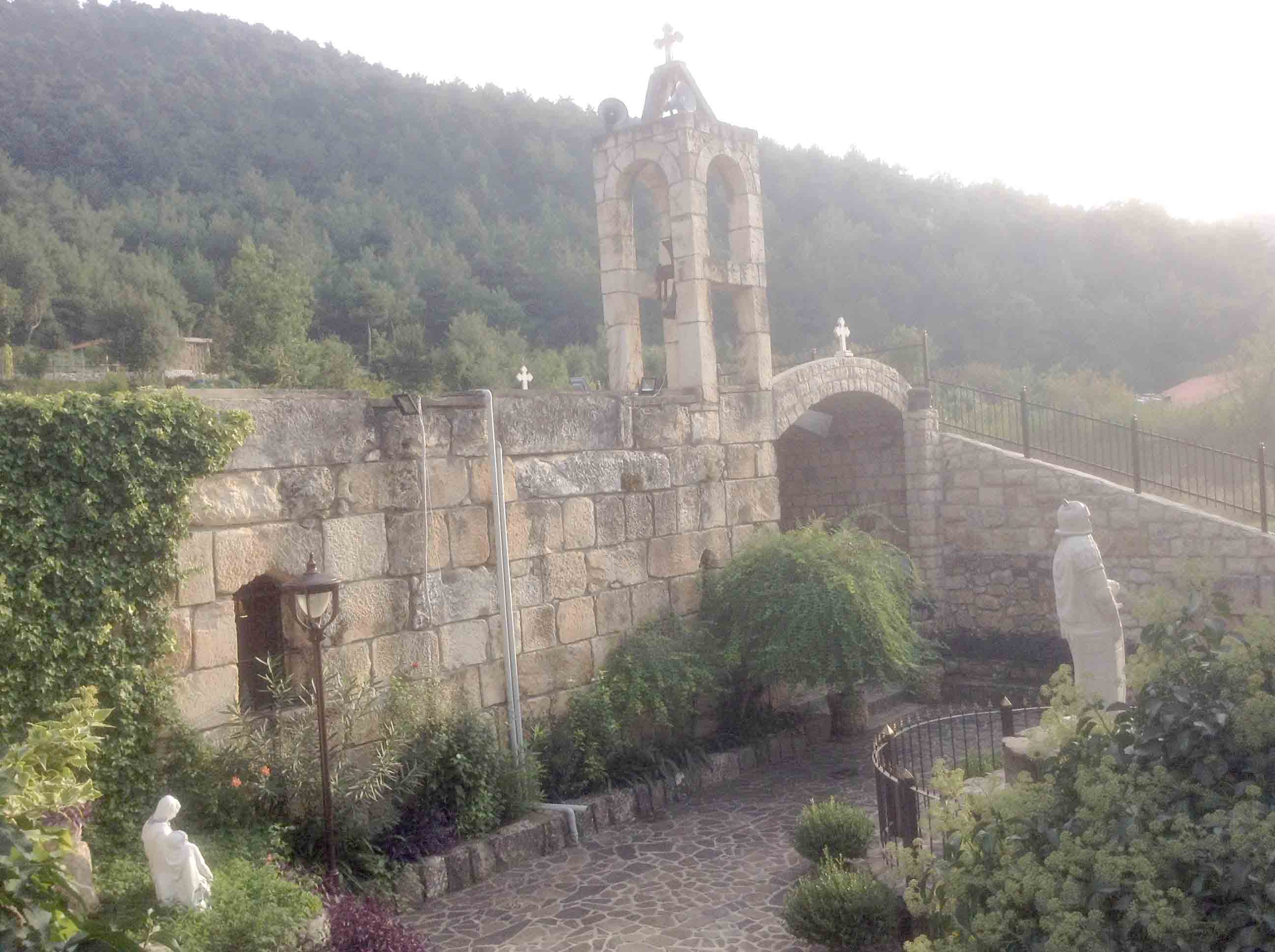 A view of Mar Challita Church in Akkar. (Samar Kadi)