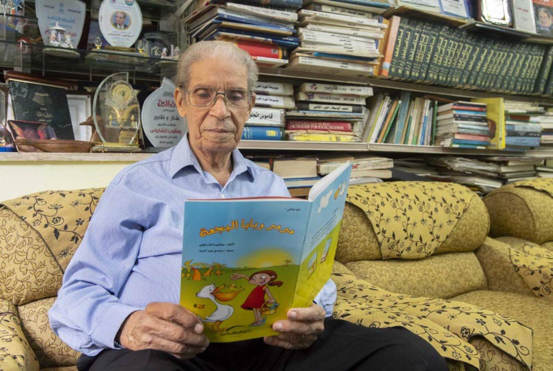 Egyptian writer Yacoub el-Sharouni. (Al Arab)