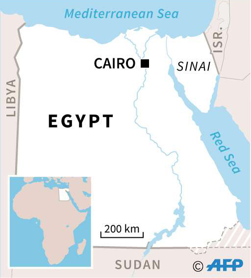 Egypt: Libya's and Sudan's neighbour.