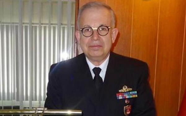 A file picture of Rear Admiral Yayci. (Credit ahvalnews.com)