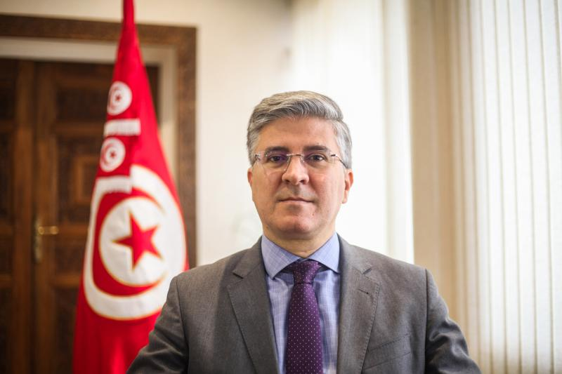 "Tunisian Minister of Tourism Mohamed Ali Toumi: ""All is ready for a safe vacation"" (Ministry of Tourism)"