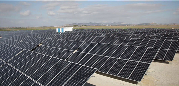 """Chams Enfidha"", the first solar energy station in Tunisia with a capacity of 1 megawatt and located in the Enfidha region. (Ministry of Energy, Mines and Energy Transition Facebook page)"