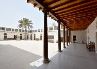 A view of the courtyard of Bait  Al Naboodah.(Sharjah Museums Authority)