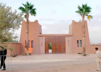 A house on the outskirts of Marrakech. (AFP)