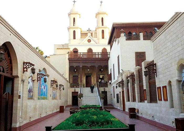 South Cairo church offers insight into Egypt's Christian history   Hassan  Abdel Zaher   AW