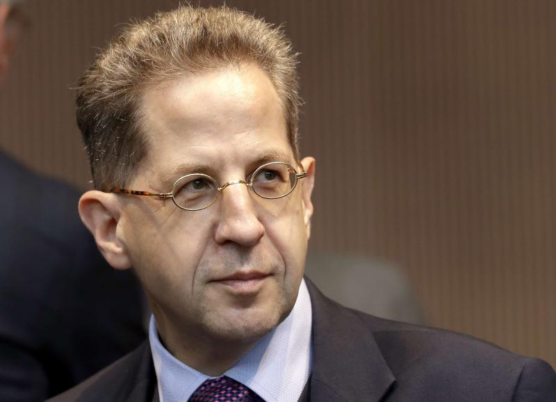 Time bombs. Head of the German Federal Office for the Protection of the Constitution Hans-Georg Maassen. (AP)