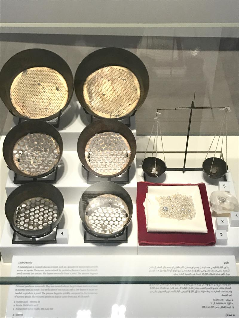 Some of the tools used in the pearling industry on display at Bait Al Naboodah. (Sharjah Museums Authority)