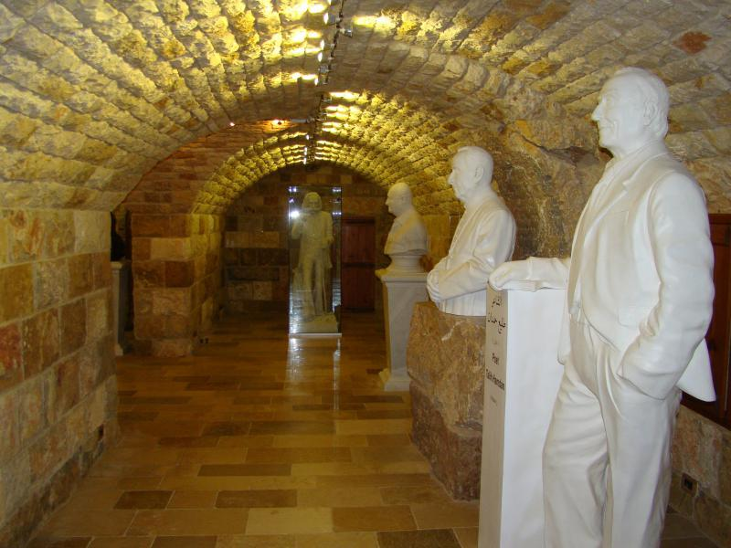 The museum at Atelier Assaf in Warhanieh in Lebanon's Chouf Mountain.(Samar Kadi)