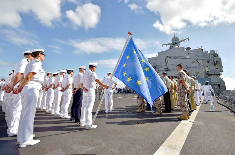 A file picture shows a Dutch warship at the French military base in Djibouti. (AFP)