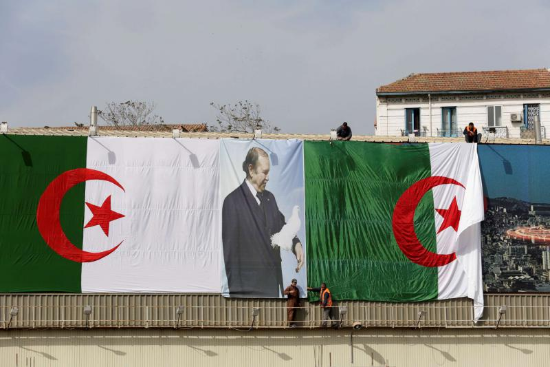 Algeria's leader sets date for vote but uncertainty remains over his