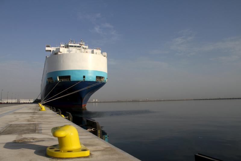 Growing links. A ship used for carrying goods is seen at the Hamad Port in Mesaieed, Qatar. (Reuters)