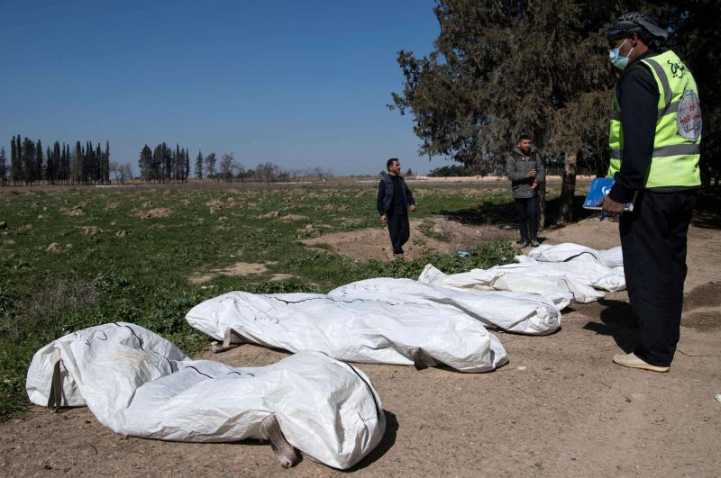 Largest ever ISIS mass grave found near Syria's Raqqa | | AW