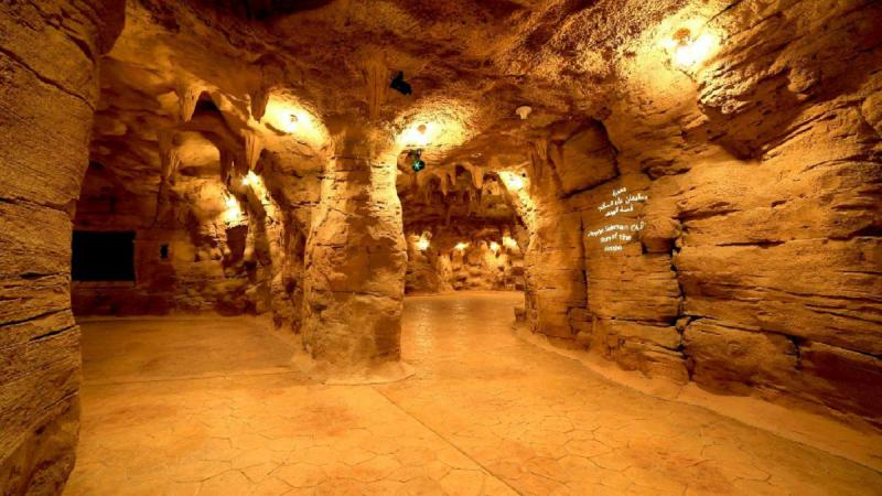Inside the Cave of Miracles.    (Dubai Municipality)