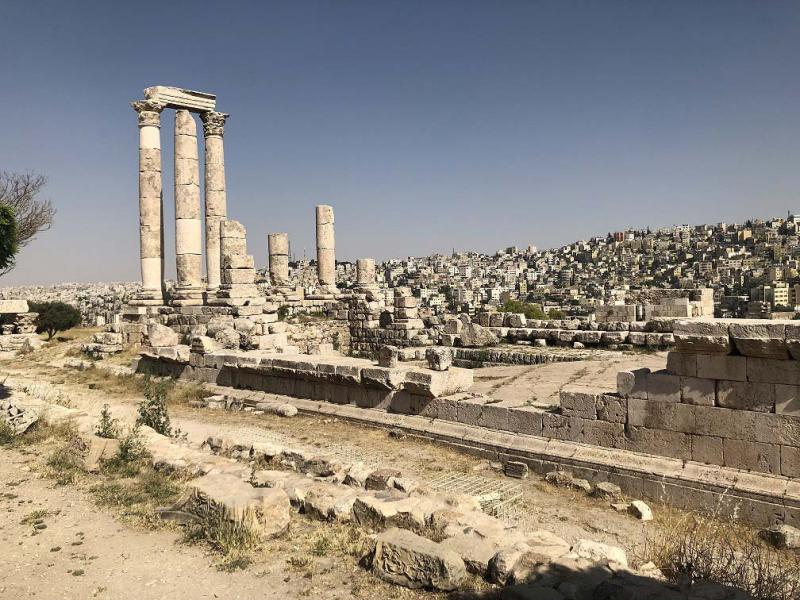 Amman Citadel standing guard atop city since antiquity | Roufan