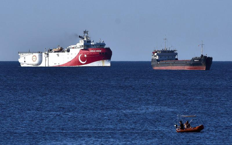 Egypt, Greece scatter Turkish cards in Mediterranean | | AW
