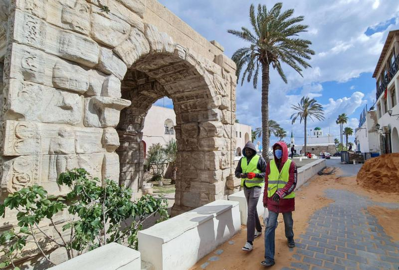 Tripoli's Old City gets facelift as country seeks recovery